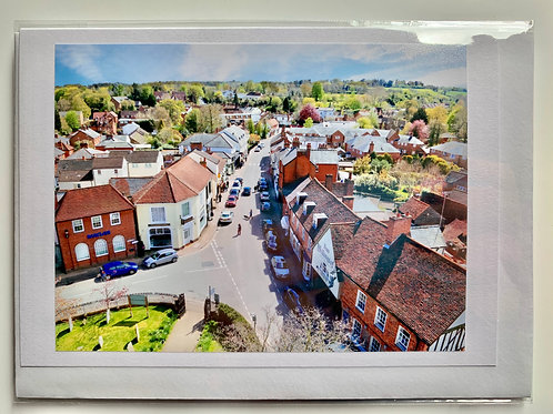 Welwyn from St. Mary's Church Tower