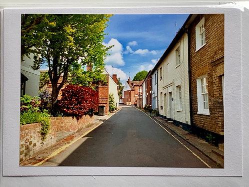 Welwyn - Mill Lane towards Church Street