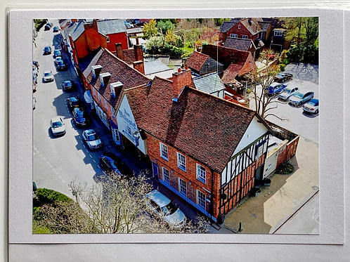 Welwyn - The Wellington from the Church Tower