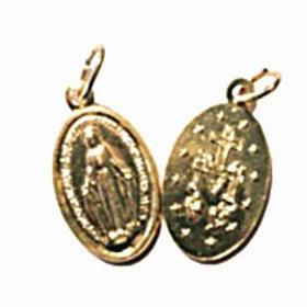 100 médailles - Aluminium doré