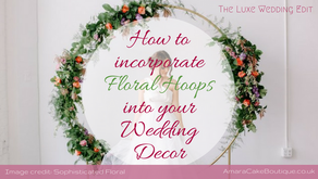 How to Incorporate Floral Hoops into your Wedding Decor