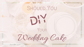 Should You DIY your Wedding Cake