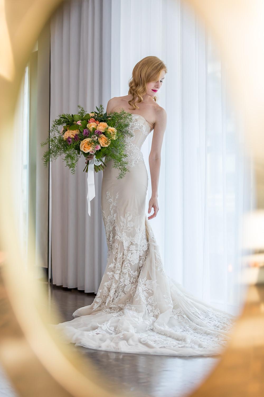Unique bridal image