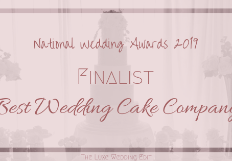 We're finalists in the National Wedding Awards 2019!