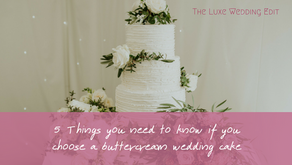 5 Things you need to know if you choose a buttercream wedding cake