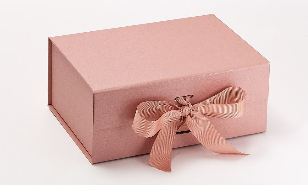 Luxury Gift Box with Ribbon (empty box)