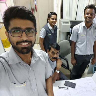 Design Team @ Axles India