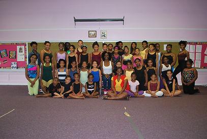 HDAT students with Master Artist Lindsay Renee Benton