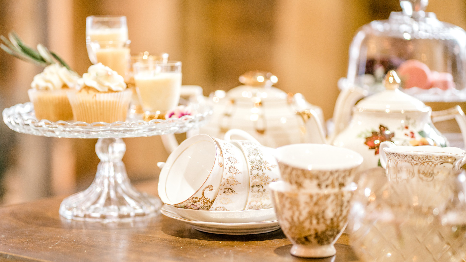 weddings for 15 tea party