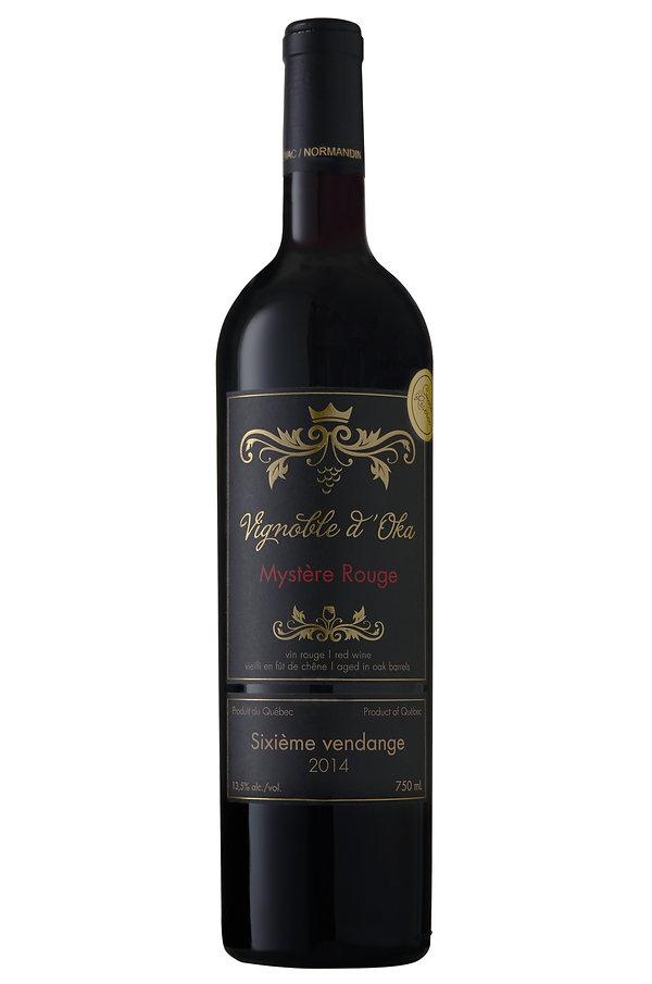 Vignoble d'Oka mystere rouge vin rouge