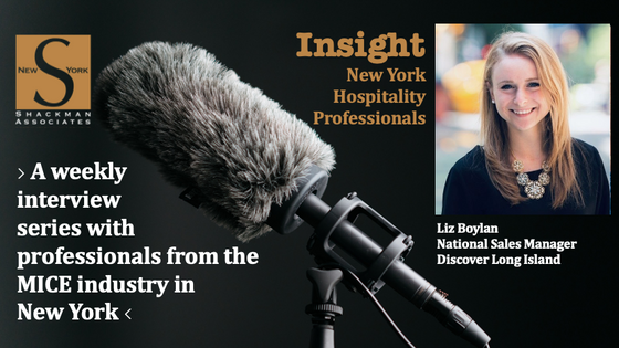 Insight; New York Hospitality Professionals - This Week: Liz Boylan