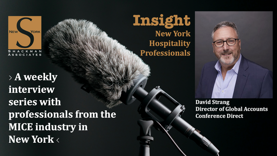 Insight; New York Hospitality Professionals - This Week: David Strang