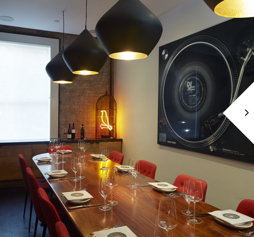 Corporate Events: Local Ingredients, Private Dining and Patio Deck in Soho
