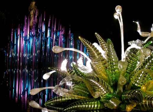 World's Top Glass Art at NYC Garden Corporate Events