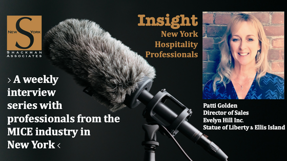 Insight; New York Hospitality Professionals - This Week: Patti Golden