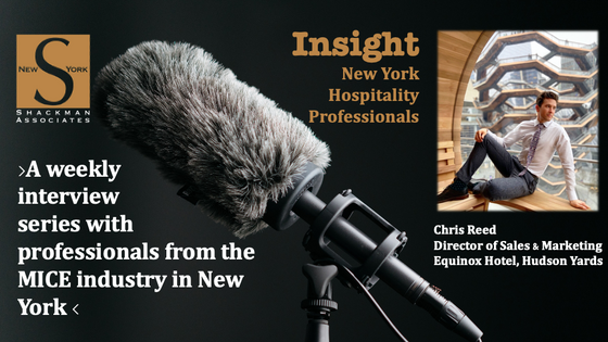 Insight; New York Hospitality Professionals - This Week: Chris Reed