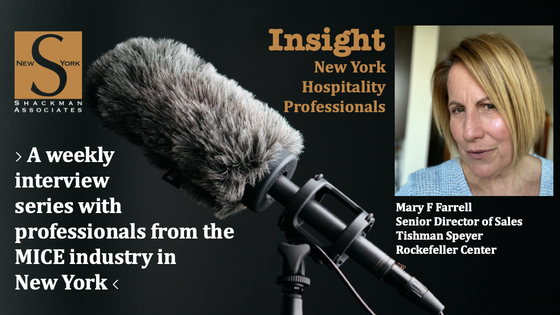 Insight; New York Hospitality Professionals - This Week: Mary F Farrell