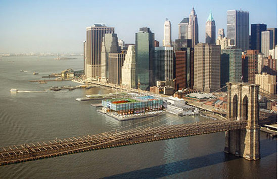 South Street Seaport Gets Sporty