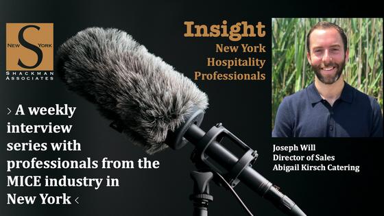 Insight; New York Hospitality Professionals - This Week: Will Joseph