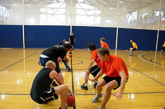 Dodgeball Team-Building at Meetings