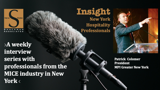 Insight; New York Hospitality Professionals - This Week: Patrick Colomer