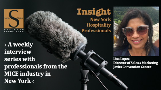 Insight; New York Hospitality Professionals - This Week: Lisa Lopez