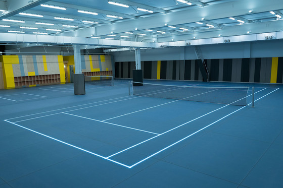 Corporate Team-Building: First LED Tennis in the US Launches in NYC