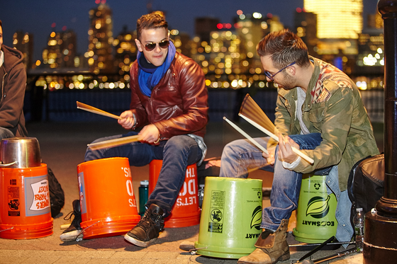 Corporate Team-Building: Become a Bucket Drummer