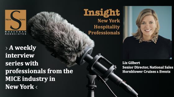 Insight; New York Hospitality Professionals - This Week: Liz Gilbert