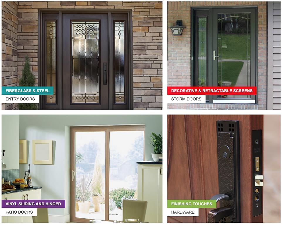 Provia Door options