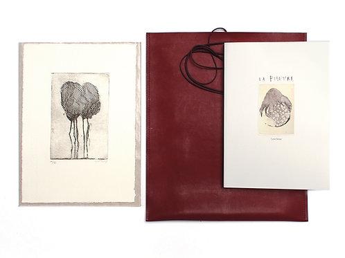 La pieuvre - Livre d'artiste et gravure originale