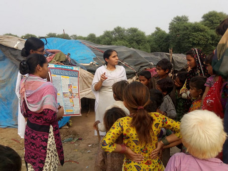 Enfants nomades d'Anklao