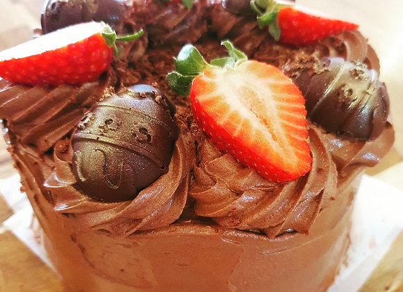 Baked Gluten Free Plant Based Cake