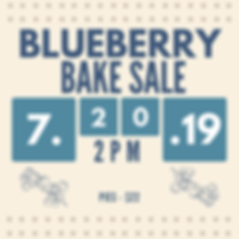 Blueberry Bakesale