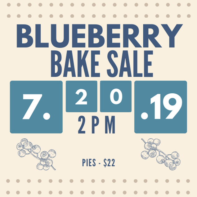 Blueberry Bakesale