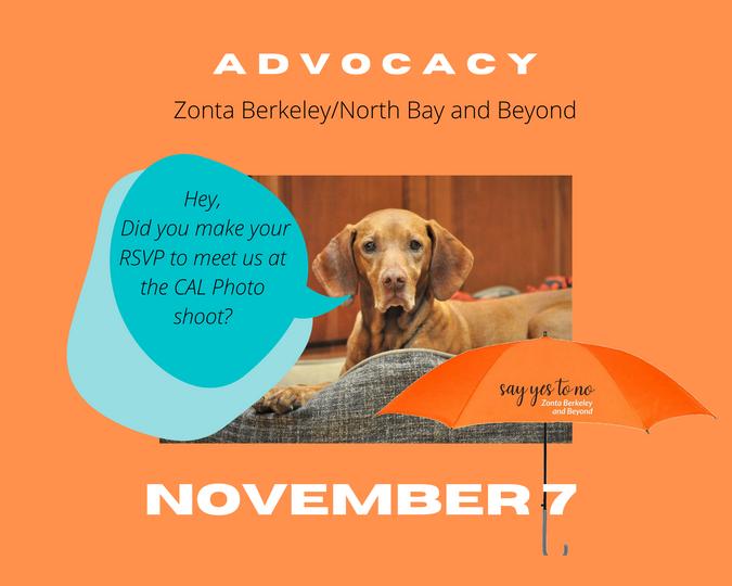 Advocacy Photo Shoot at CAL