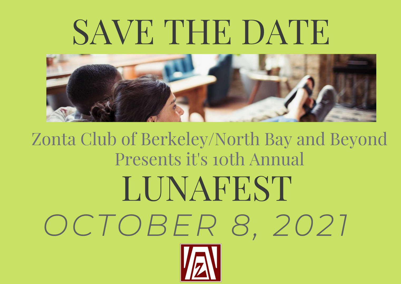 Save the Date LUNAFEST