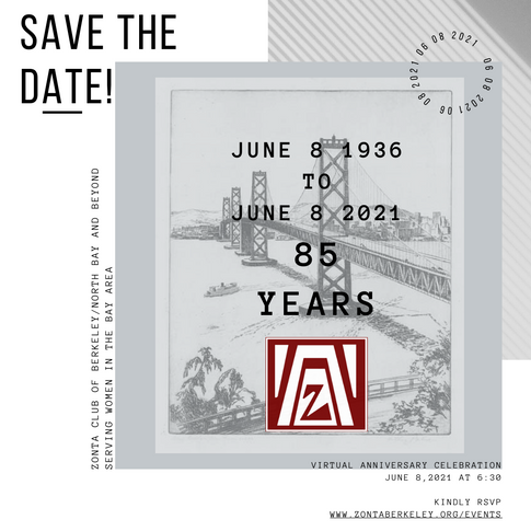 White and Black Save The Date Zonta 85th.png