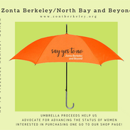 Orange Umbrellas Support Scholarships