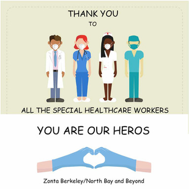 Thank you healthcare workers