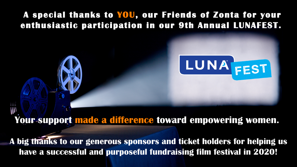 Thanks for a great LUNAFEST