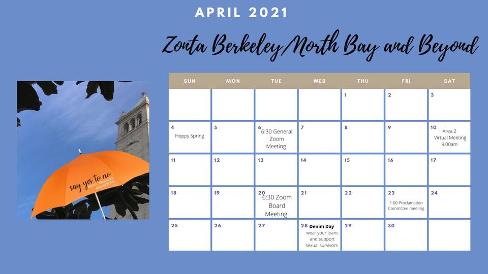 Zonta April 2021