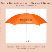 Zonta Berkeley no to violence