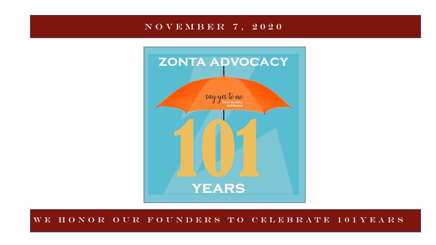 ZONTA 101 Years