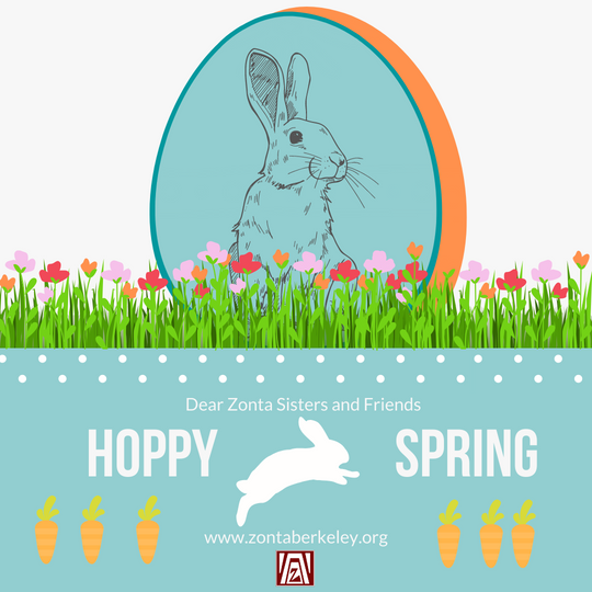 Hoppy Spring Zonta Sisters
