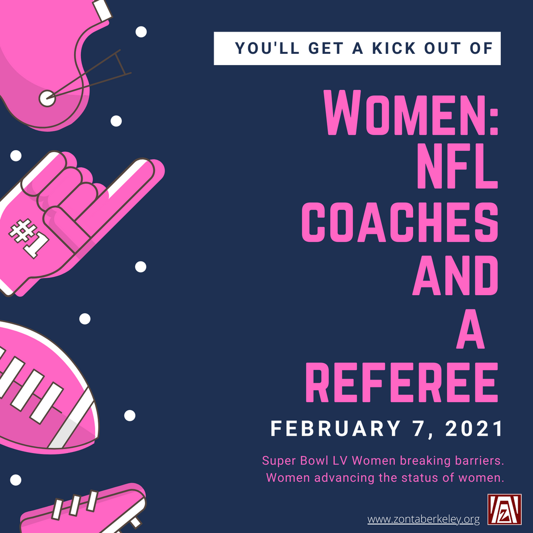 Women NFL Coaches and Referee