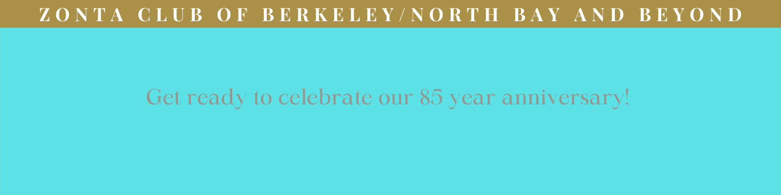 Get Ready to Celebrate 85 Years