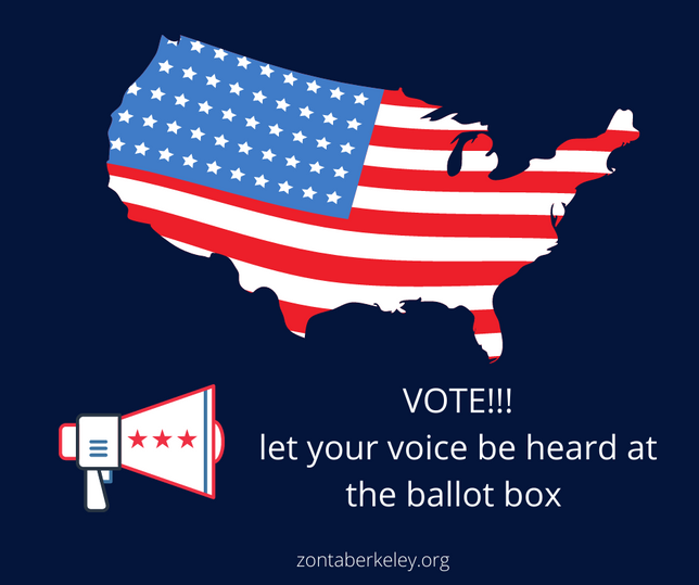 Vote! Let your voice be heard at the ballot box