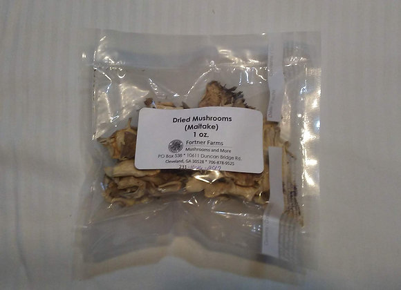 Dried Maitake Mushrooms - 1 oz.