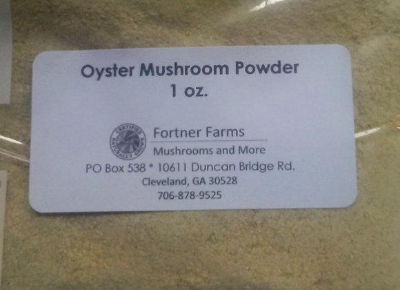 Dried Oyster Mushroom Powder - 1 oz.